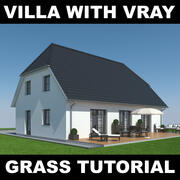 Tutoriel Villa Grass 2 3d model