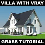Tutoriel Villa Grass 1 3d model