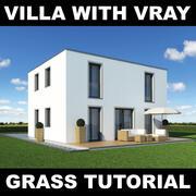 Tutoriel Villa Grass 9 3d model