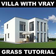 Tutoriel Villa Grass 12 3d model