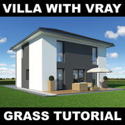 Tutoriel Villa Grass 10 3d model
