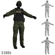 SWAT 4 LODs 3d model