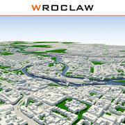 Breslau Stadt abgeschlossen 3d model