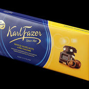 Karl Fazer chocolate bar 3d model