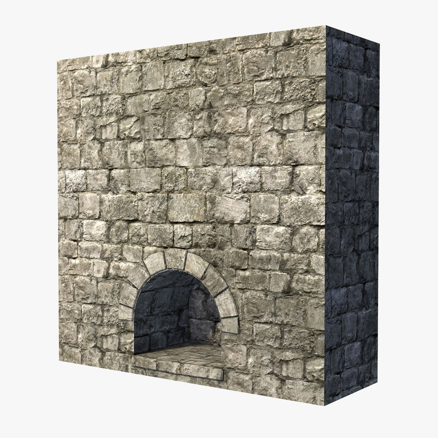 Modular Castle / Dungeon Building Set royalty-free 3d model - Preview no. 20