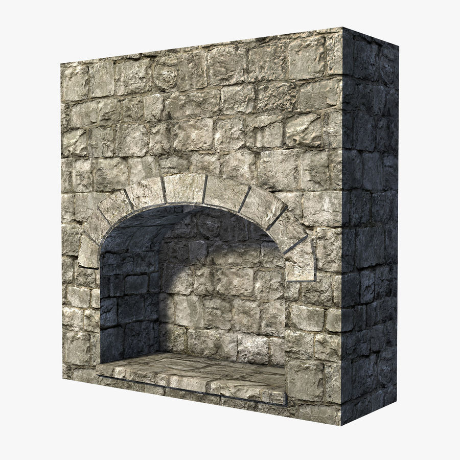 Modular Castle / Dungeon Building Set royalty-free 3d model - Preview no. 18