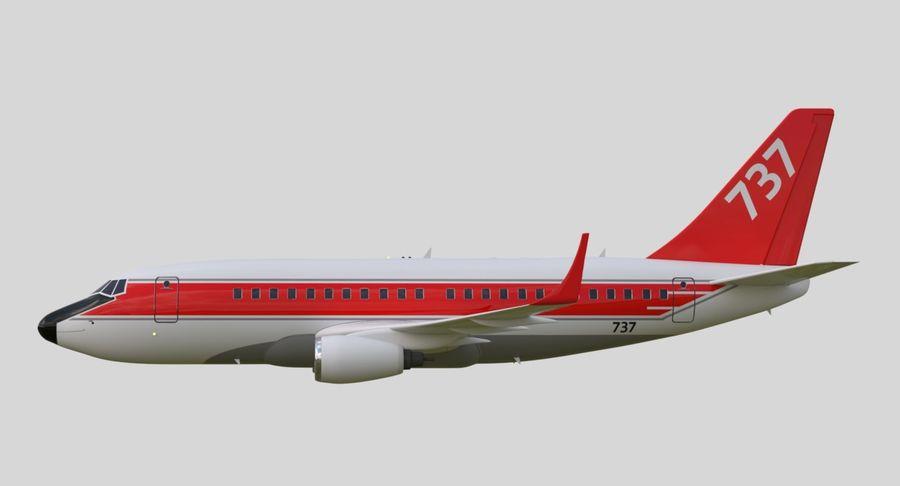 Avião a jato royalty-free 3d model - Preview no. 19