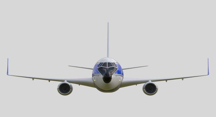 제트 비행기 royalty-free 3d model - Preview no. 6