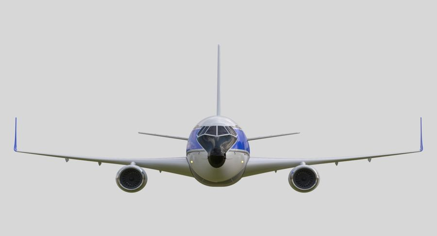 Avião a jato royalty-free 3d model - Preview no. 6