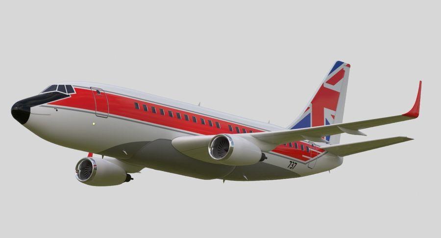 Avião a jato royalty-free 3d model - Preview no. 8