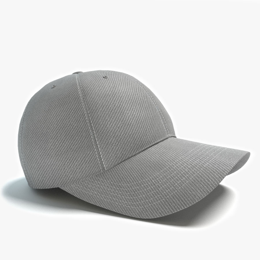 Gorra de beisbol royalty-free modelo 3d - Preview no. 1