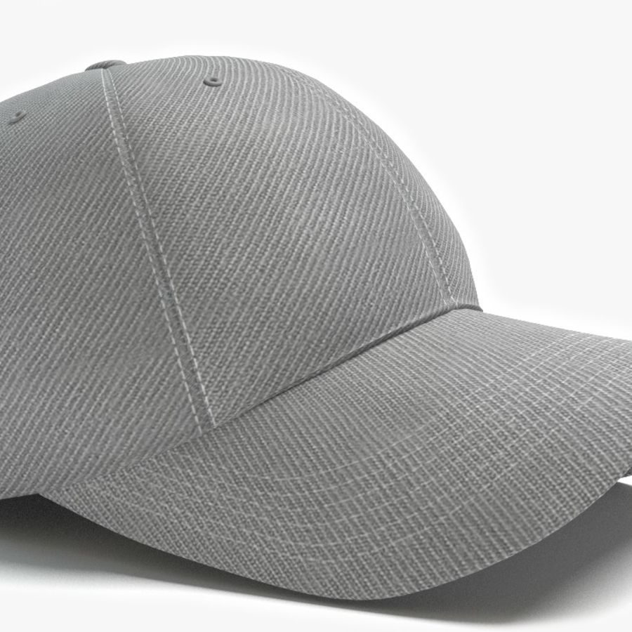 Baseball Cap royalty-free 3d model - Preview no. 2
