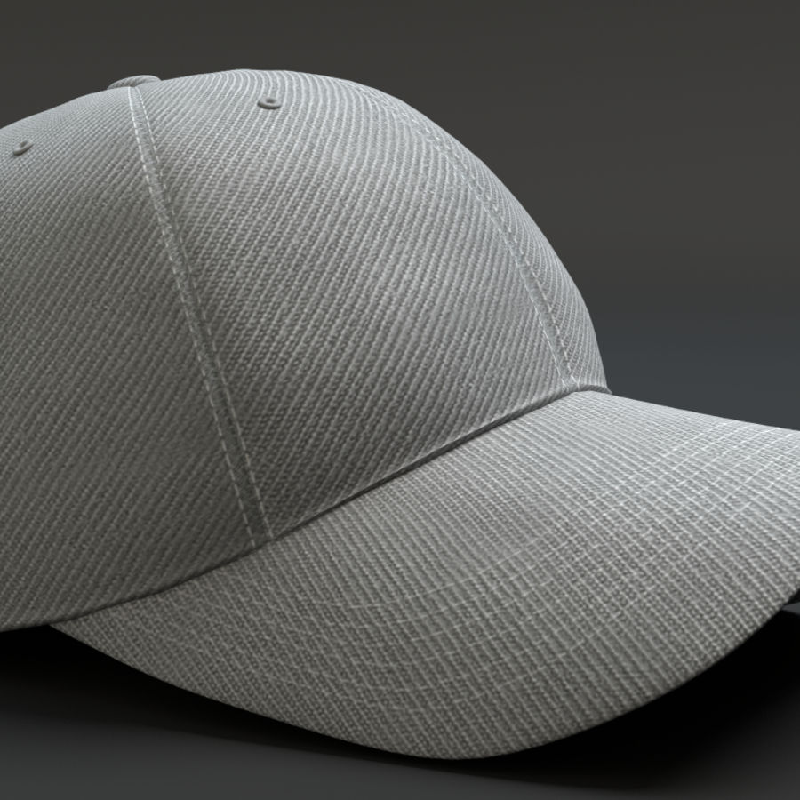 Gorra de beisbol royalty-free modelo 3d - Preview no. 3