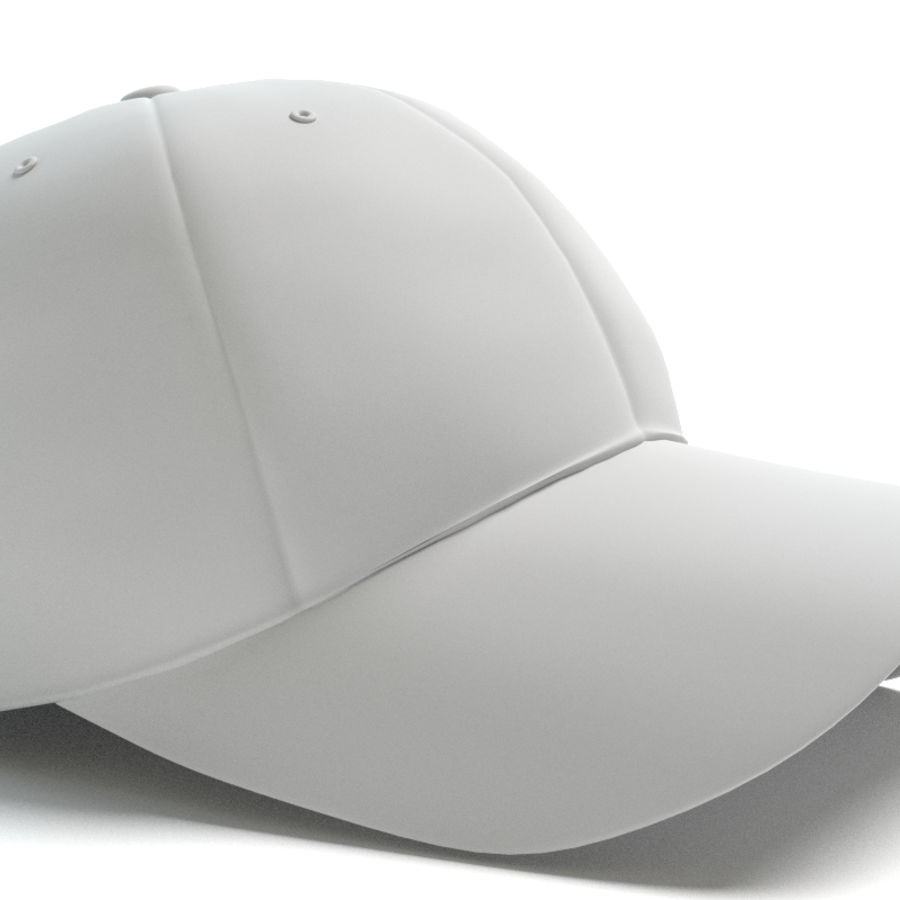 Gorra de beisbol royalty-free modelo 3d - Preview no. 5