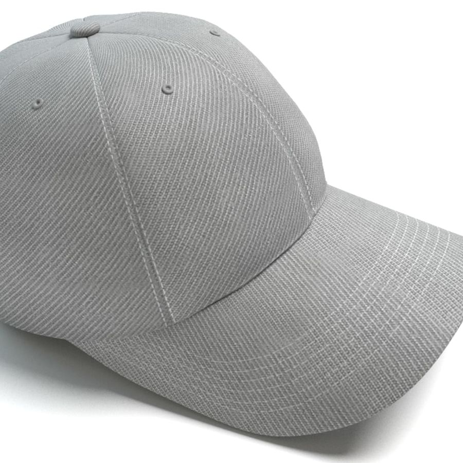 Baseball Cap royalty-free 3d model - Preview no. 4