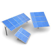 Solar Panels 1 3d model