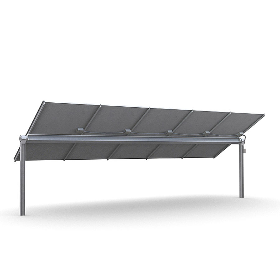 Solar Panels 1 royalty-free 3d model - Preview no. 5