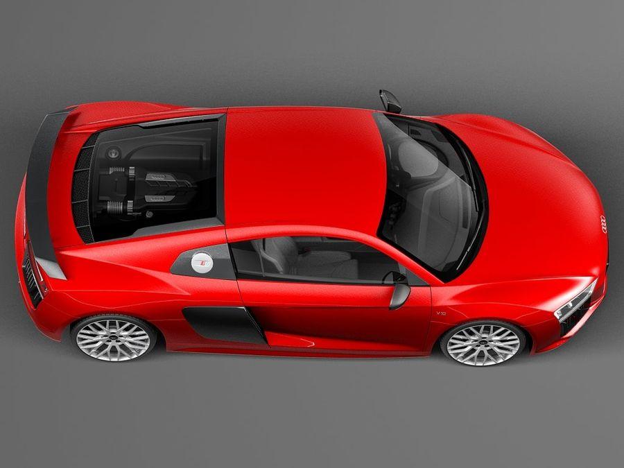 Audi R8 V10 Plus 2016 royalty-free 3d model - Preview no. 8