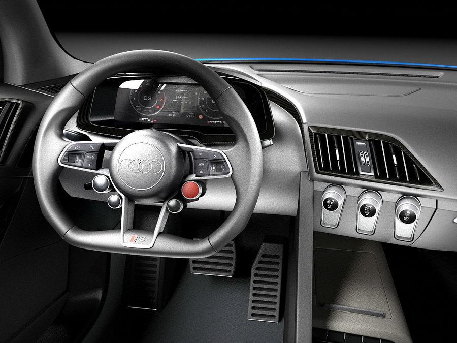 Audi R8 V10 Plus 2016 royalty-free 3d model - Preview no. 10