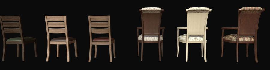 Pack de chaises prêt pour le jeu royalty-free 3d model - Preview no. 4
