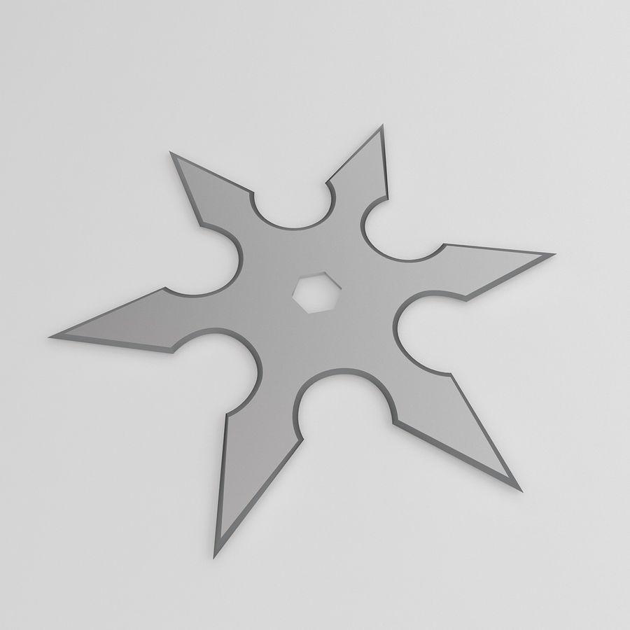 Shuriken 3d Model 3 Max Obj Fbx C4d 3ds Free3d
