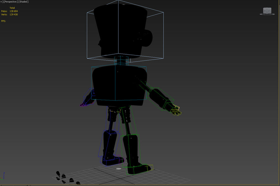 Robot royalty-free 3d model - Preview no. 6