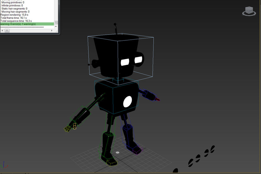 Robot royalty-free 3d model - Preview no. 7