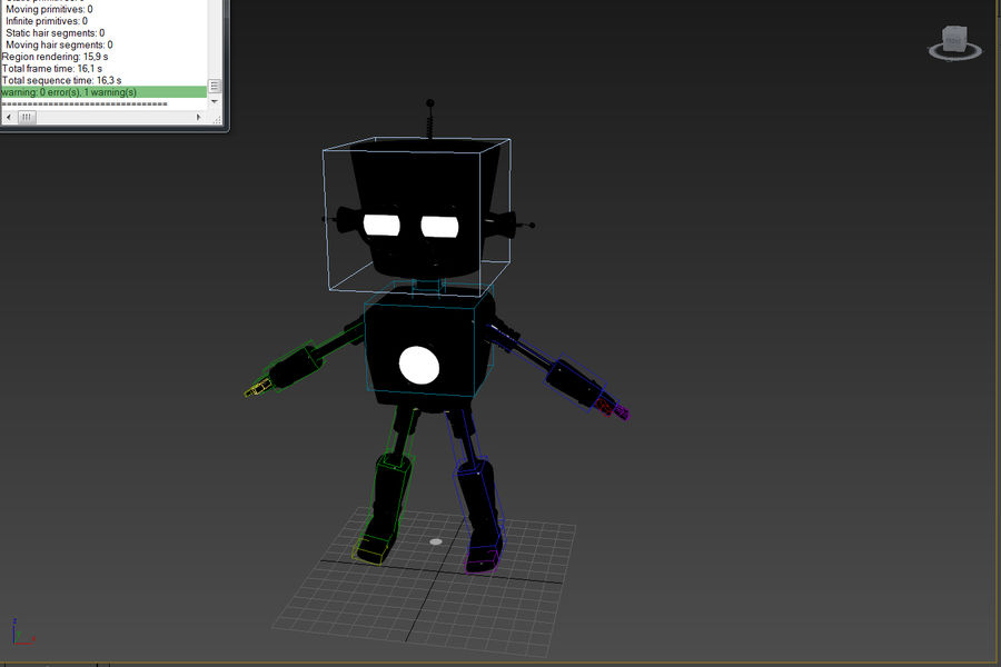 Robot royalty-free 3d model - Preview no. 8