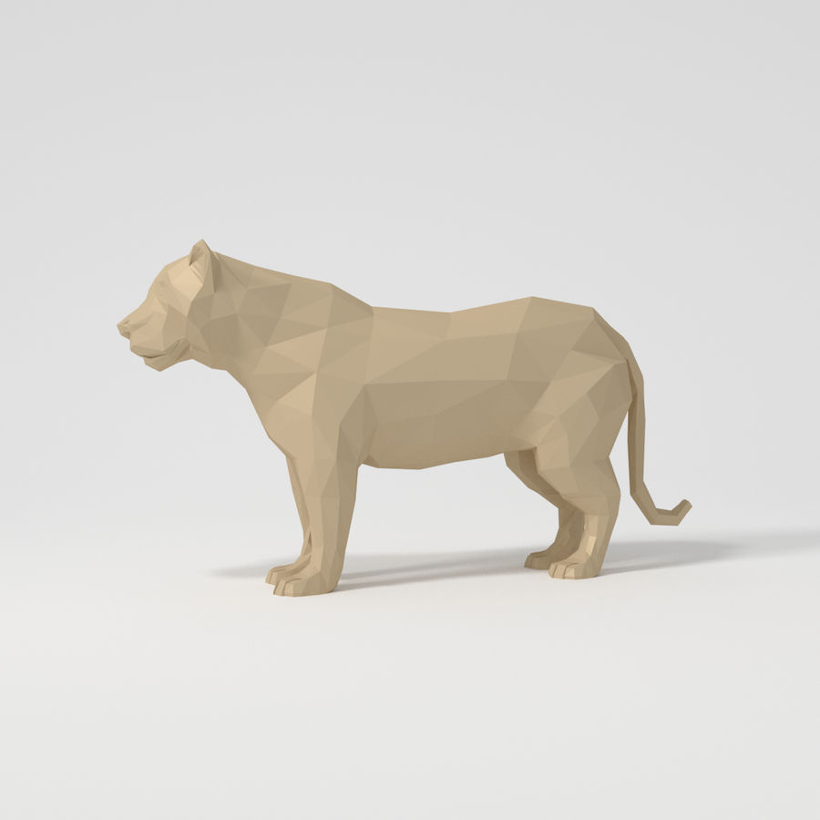 Leopard royalty-free 3d model - Preview no. 1