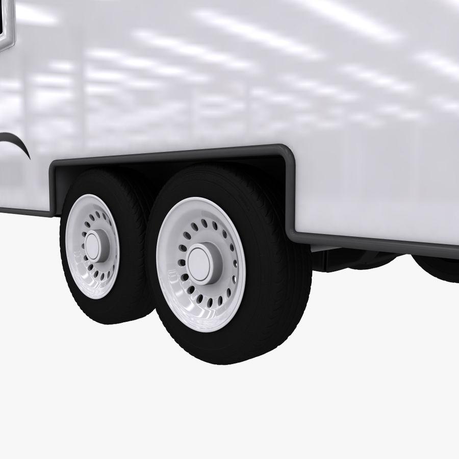 caravan royalty-free 3d model - Preview no. 7