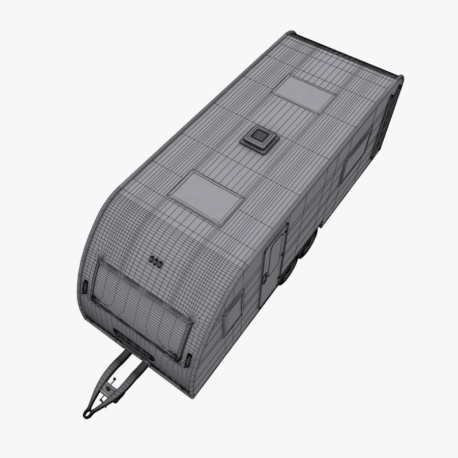 caravan royalty-free 3d model - Preview no. 11
