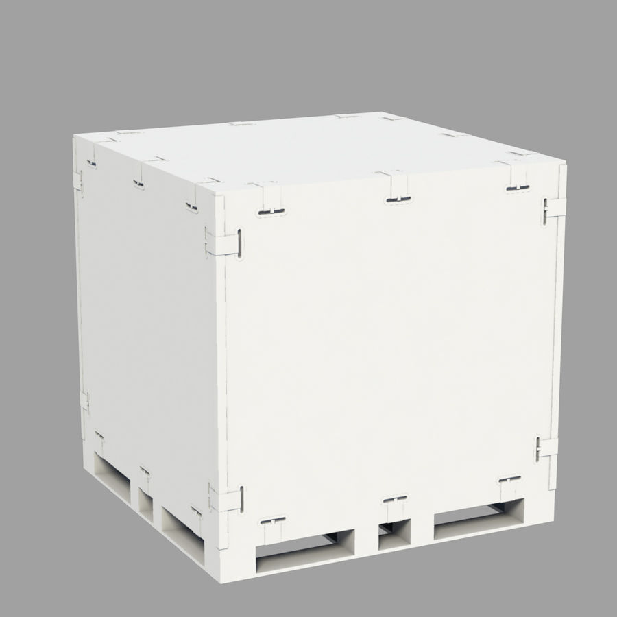 shiping_crate royalty-free 3d model - Preview no. 2