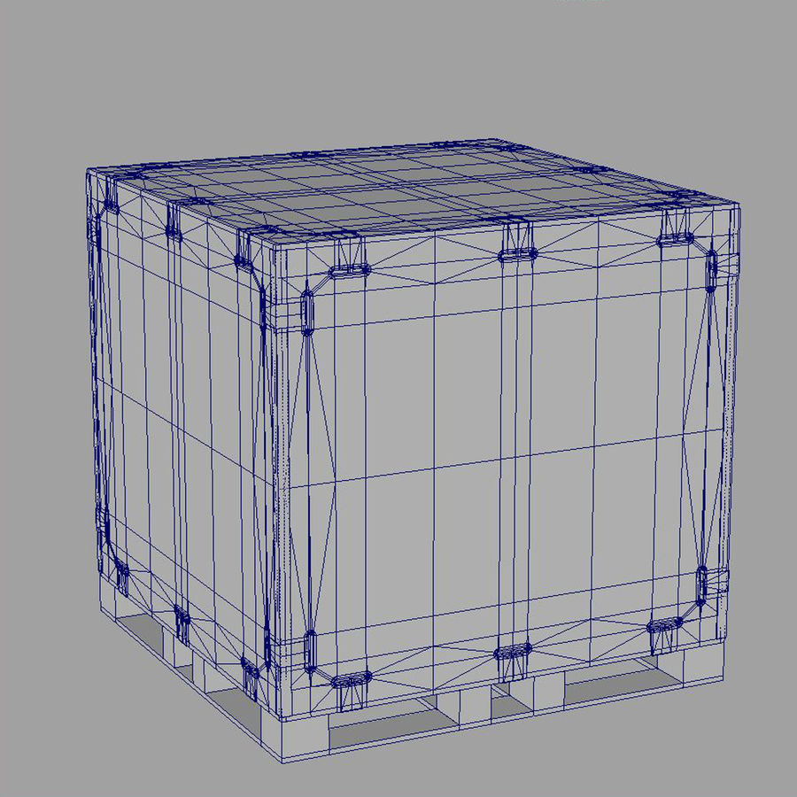 shiping_crate royalty-free 3d model - Preview no. 10