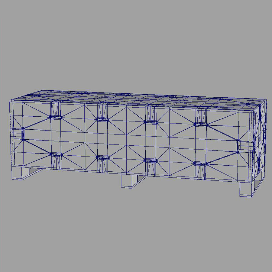 shiping_crate royalty-free 3d model - Preview no. 14