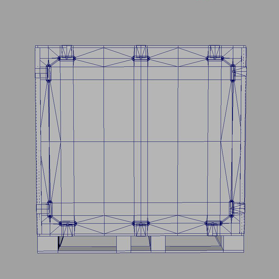 shiping_crate royalty-free 3d model - Preview no. 11