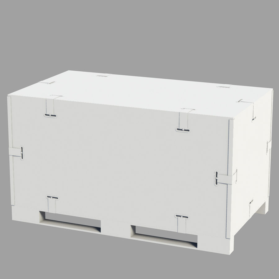 shiping_crate royalty-free 3d model - Preview no. 4