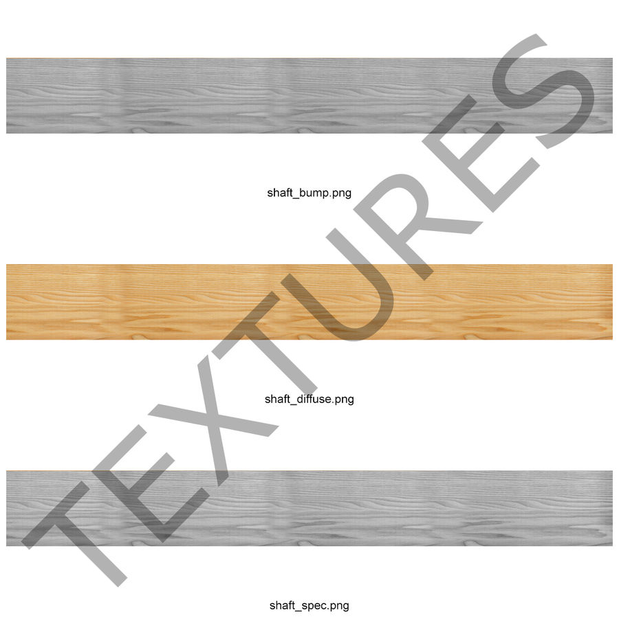 Bow Arrow 2 royalty-free 3d model - Preview no. 21