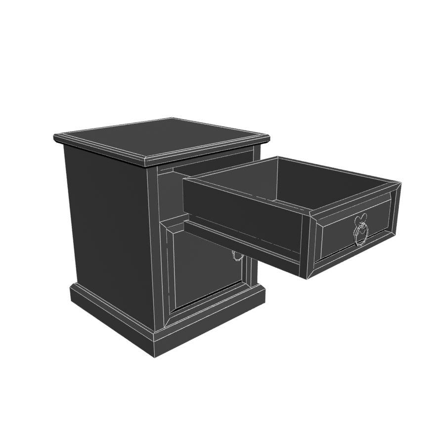 Colección de muebles de dormitorio royalty-free modelo 3d - Preview no. 14