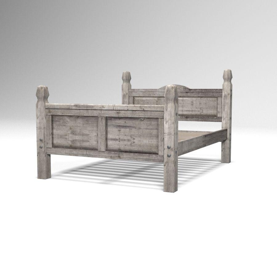 Colección de muebles de dormitorio royalty-free modelo 3d - Preview no. 5