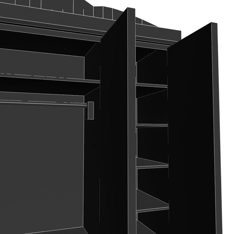 Colección de muebles de dormitorio royalty-free modelo 3d - Preview no. 30