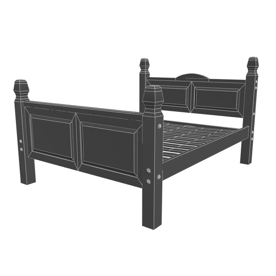 Colección de muebles de dormitorio royalty-free modelo 3d - Preview no. 7