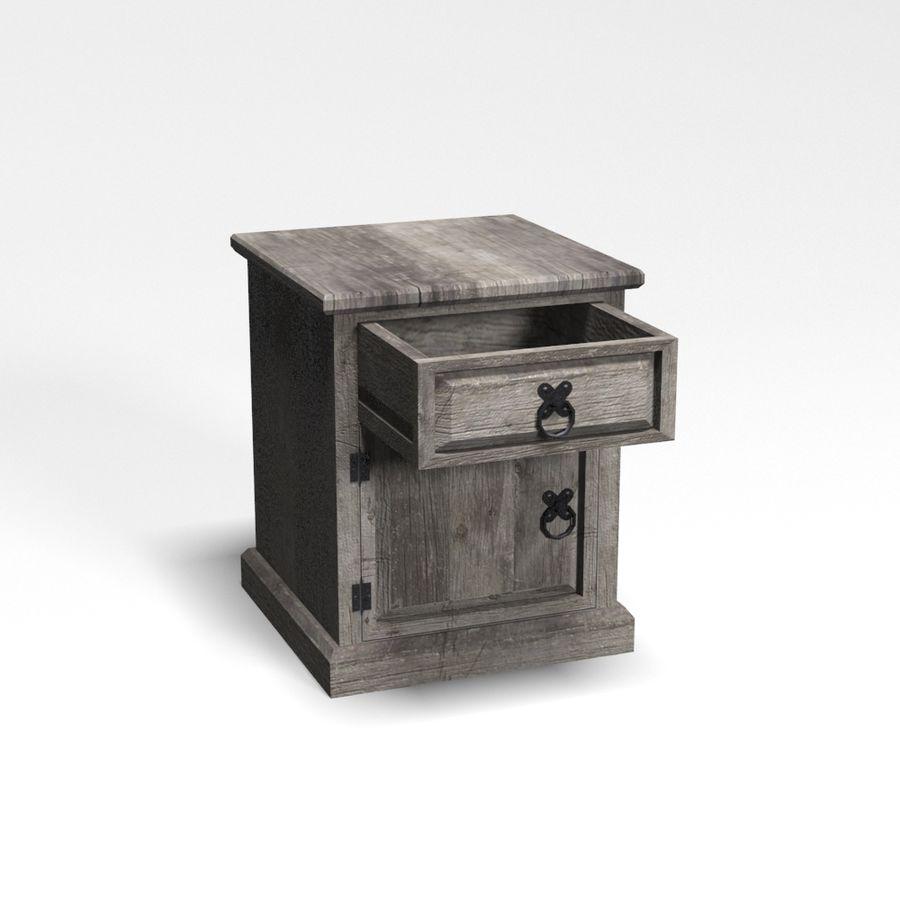 Colección de muebles de dormitorio royalty-free modelo 3d - Preview no. 12
