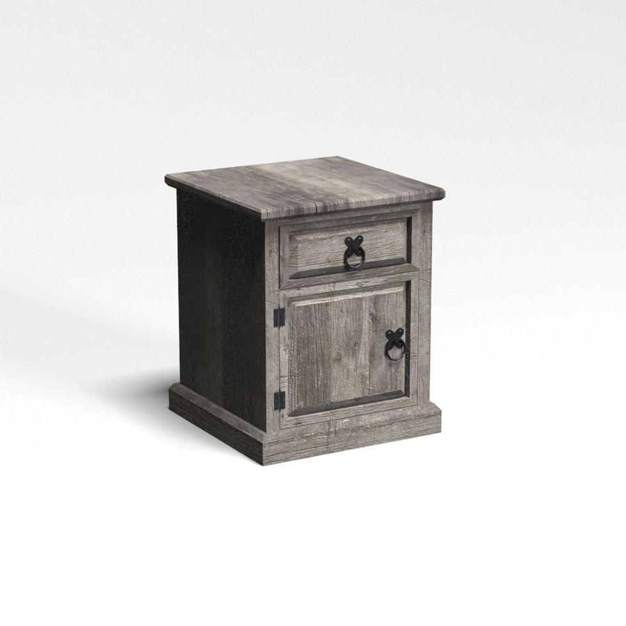 Colección de muebles de dormitorio royalty-free modelo 3d - Preview no. 10