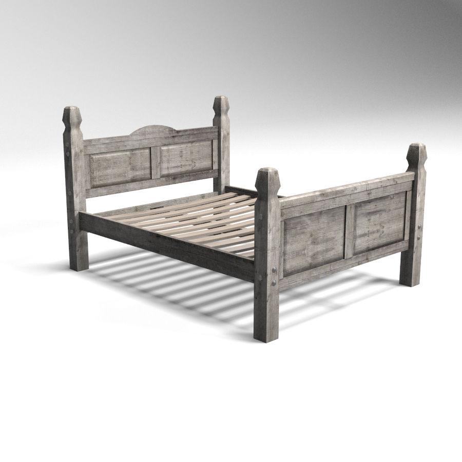 Colección de muebles de dormitorio royalty-free modelo 3d - Preview no. 4