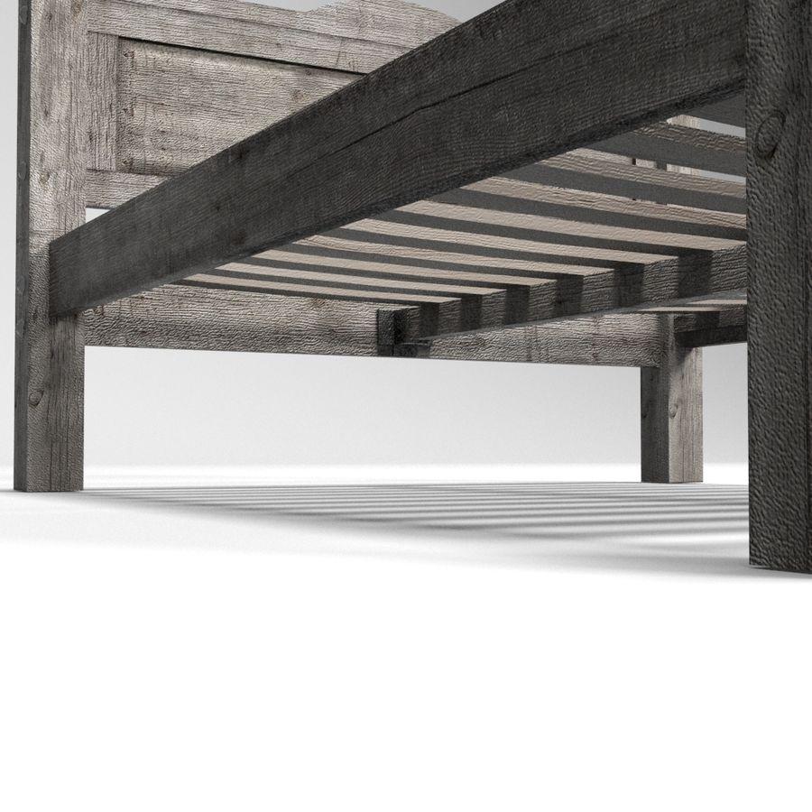 Colección de muebles de dormitorio royalty-free modelo 3d - Preview no. 6
