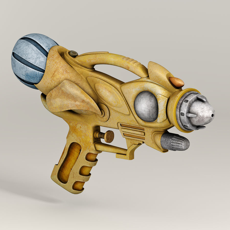 Arma Steampunk royalty-free 3d model - Preview no. 2