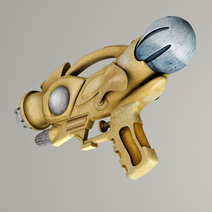 Arma Steampunk royalty-free 3d model - Preview no. 5