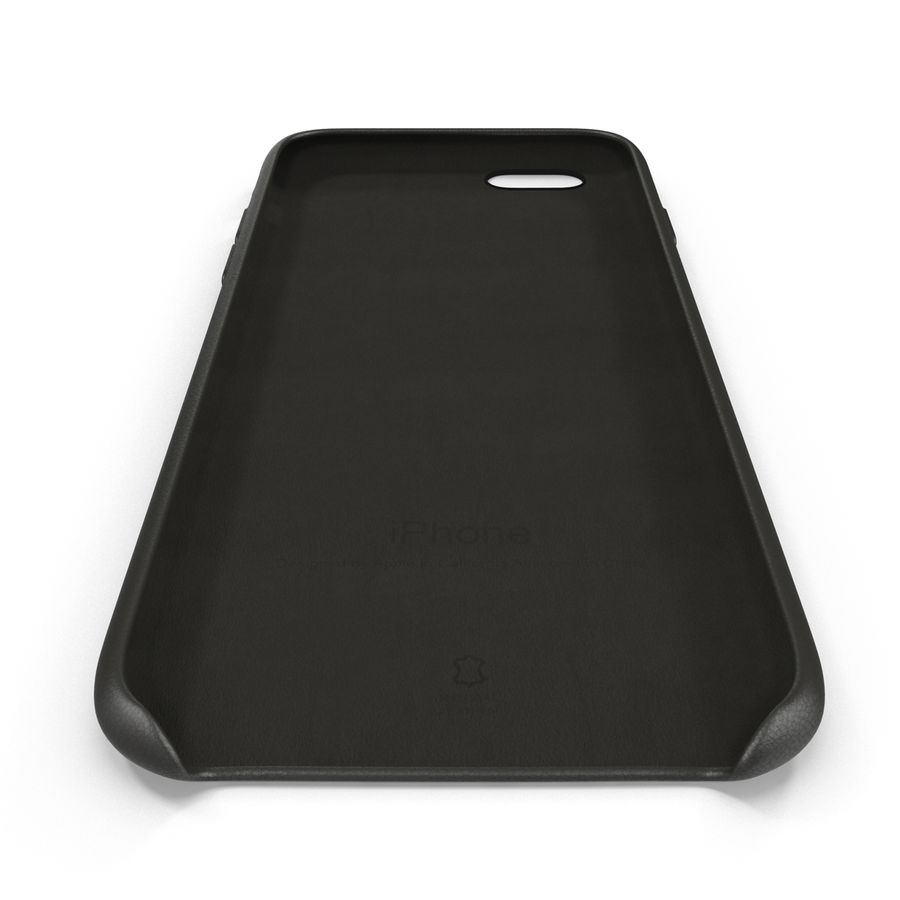iPhone 6 Plus Leather Case Grey royalty-free 3d model - Preview no. 11