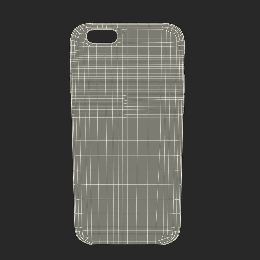 iPhone 6 Plus Leather Case Grey royalty-free 3d model - Preview no. 23
