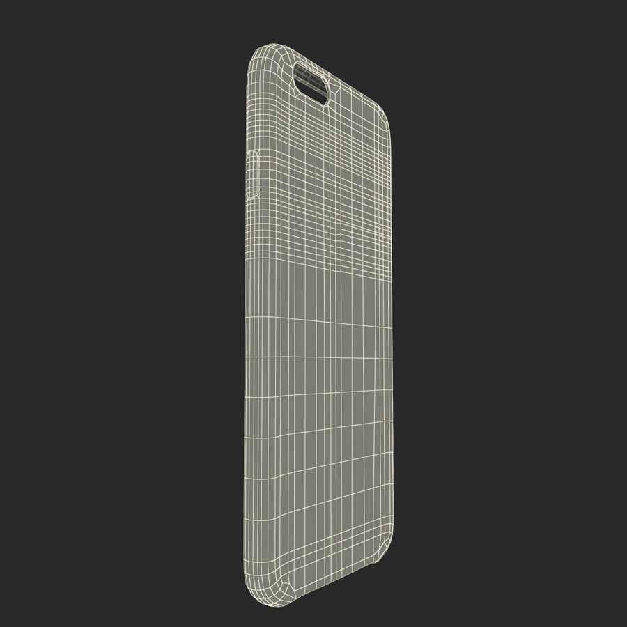 iPhone 6 Plus Leather Case Grey royalty-free 3d model - Preview no. 25